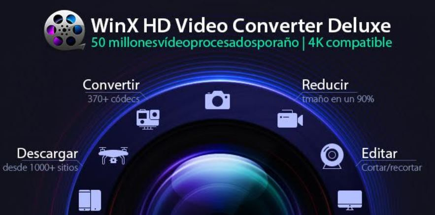WINX HD Video Converter Deluxe, para convertir ví­deos en Windows