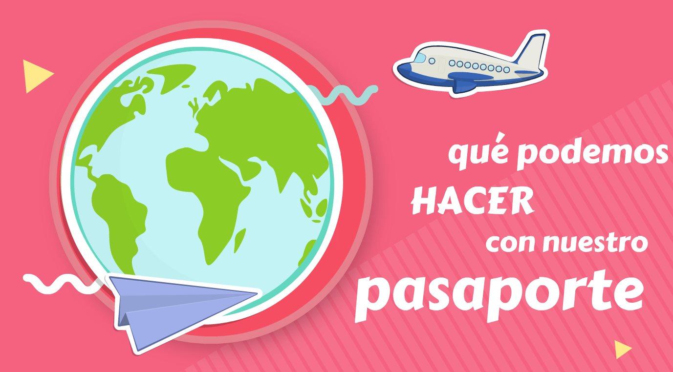 Una web nos dice dónde podemos viajar con nuestro pasaporte sin pedir permisos