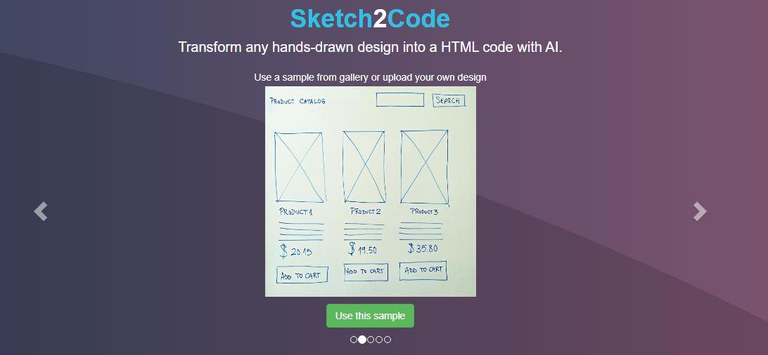 dibujo a HTML