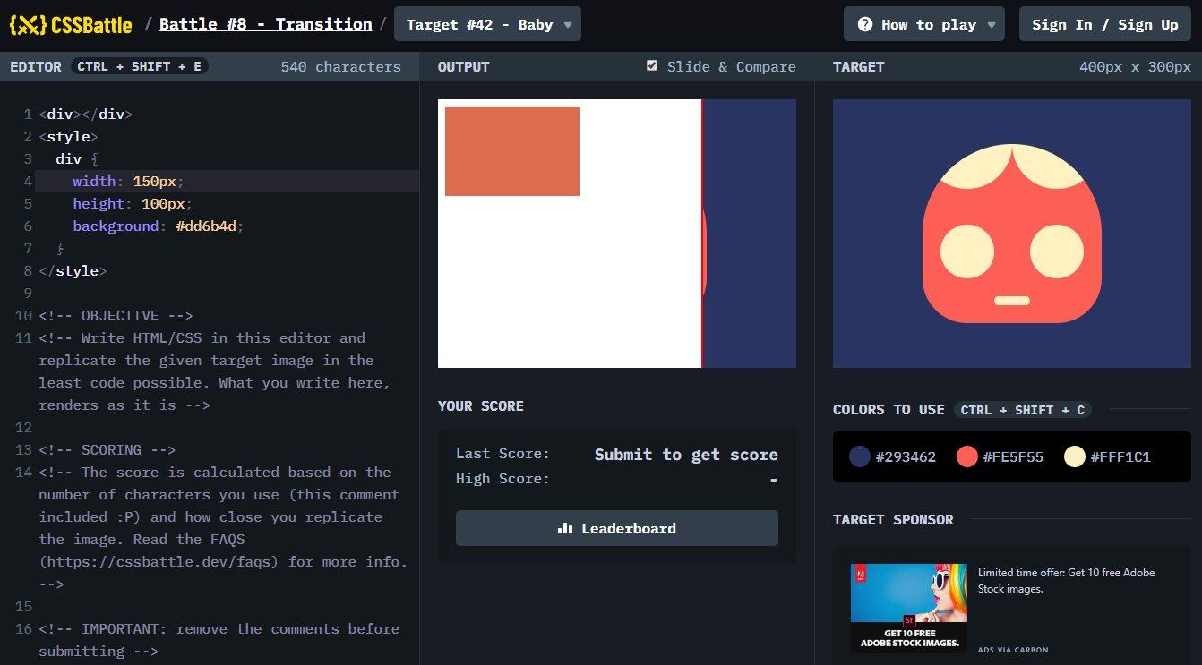 Batallas de CSS, para demostrar que eres el mejor programador