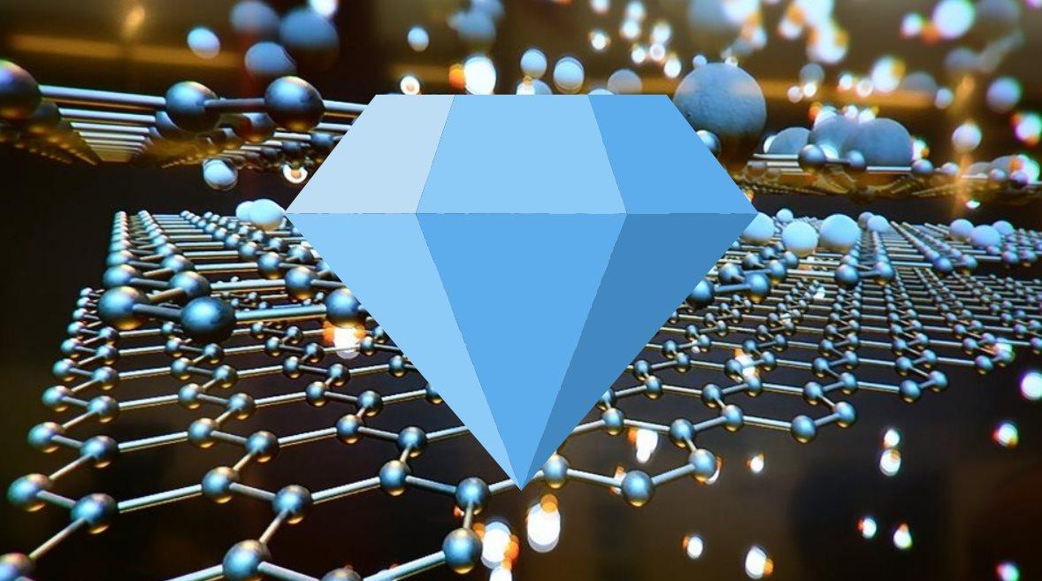 Crean película de diamante ultradelgada hecha con grafeno