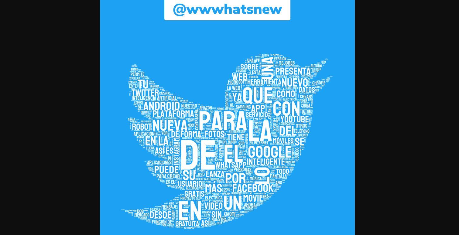 Crea una figura con las palabras más usadas en tu Twitter
