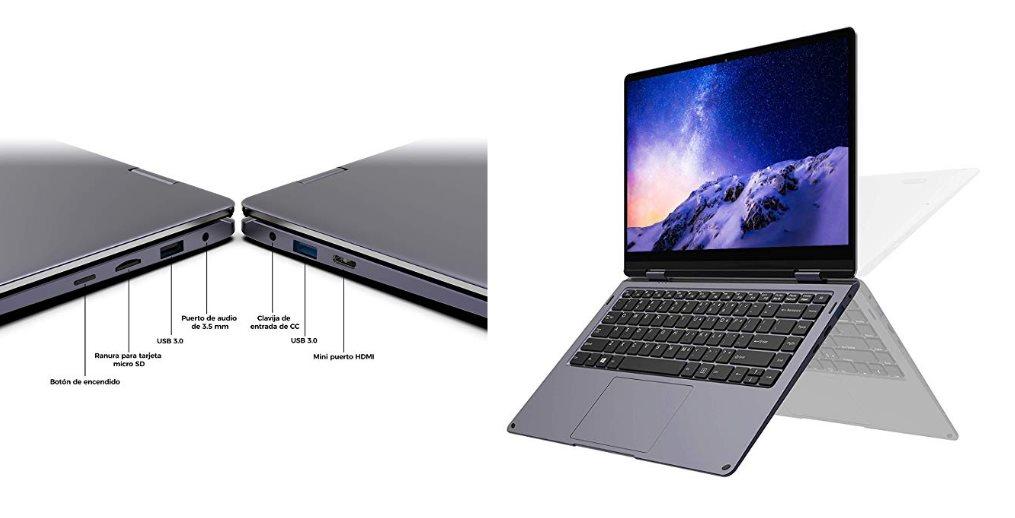Así es el XIDU PhilBook MAX, el portátil convertible con 8G de RAM y menos de 400 euros