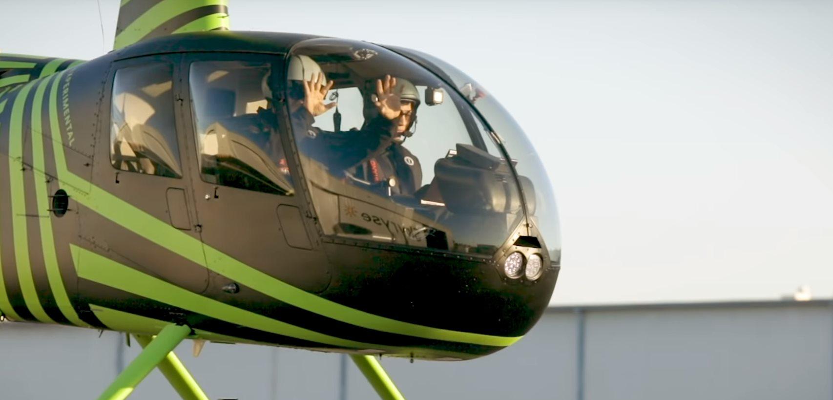 helicóptero autónomo