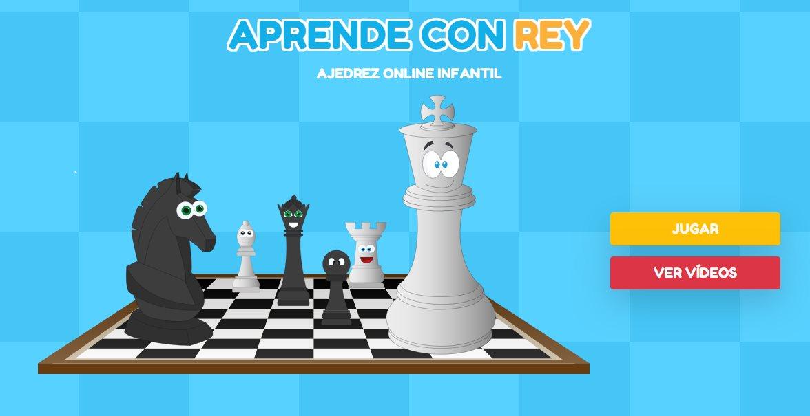 Aprende con Rey, un juego online de ajedrez para niños