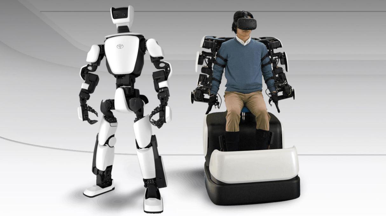 Robots de Toyota que imitan cada vez mejor el movimiento de los humanos