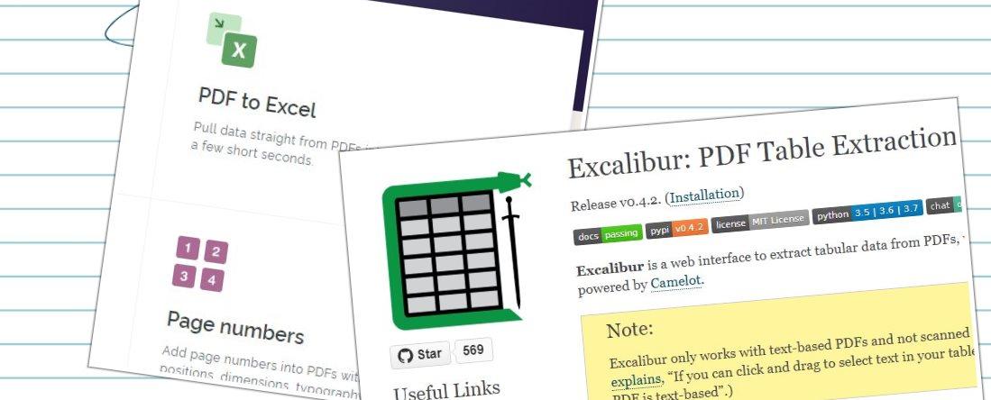 Cómo extraer tablas de PDF y llevarlas a EXCEL