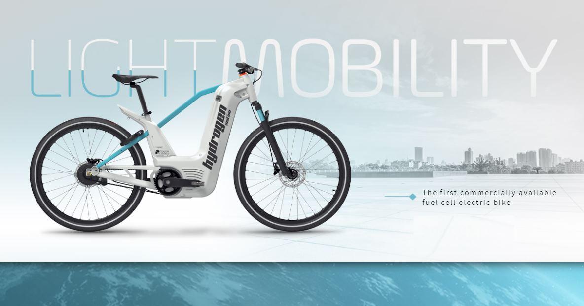 La bicicleta eléctrica que funciona con hidrógeno y tiene 150 km de autonomía