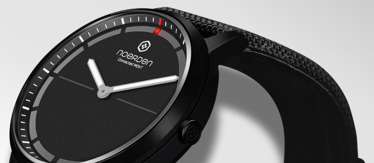 Así es el reloj híbrido Noerden Mate2+