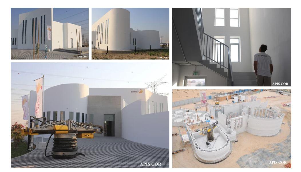 Dubai construye el edificio más grande del mundo nacido de la impresión 3D