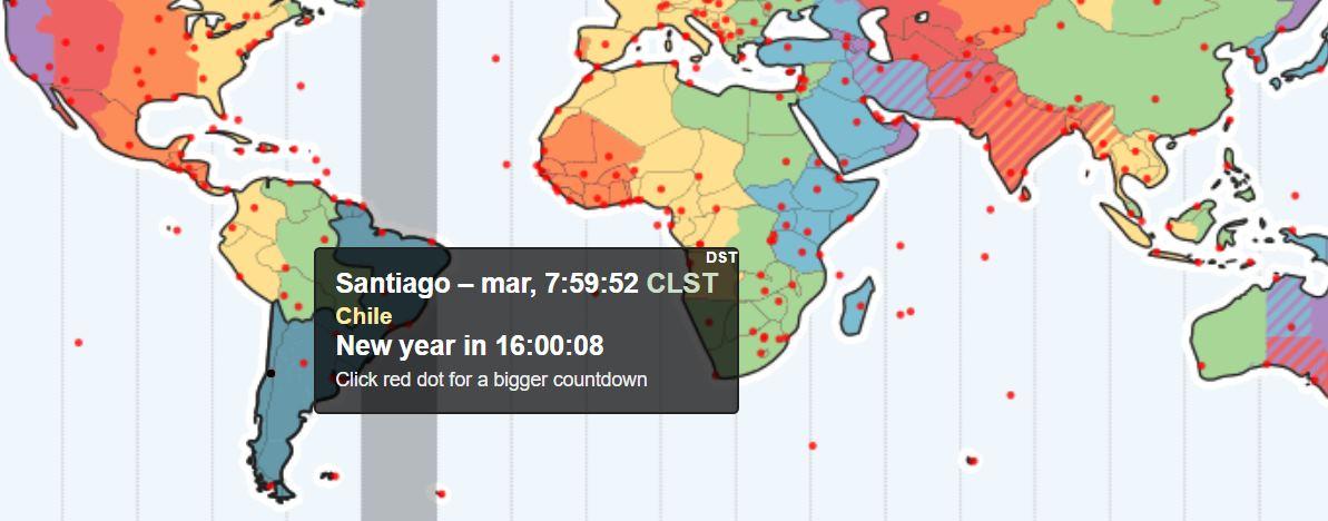 mapa horarios