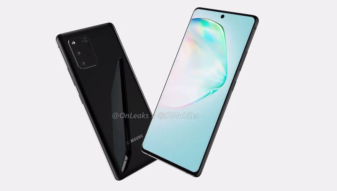 Así serán el Galaxy Note 10 Lite y el S10 Lite