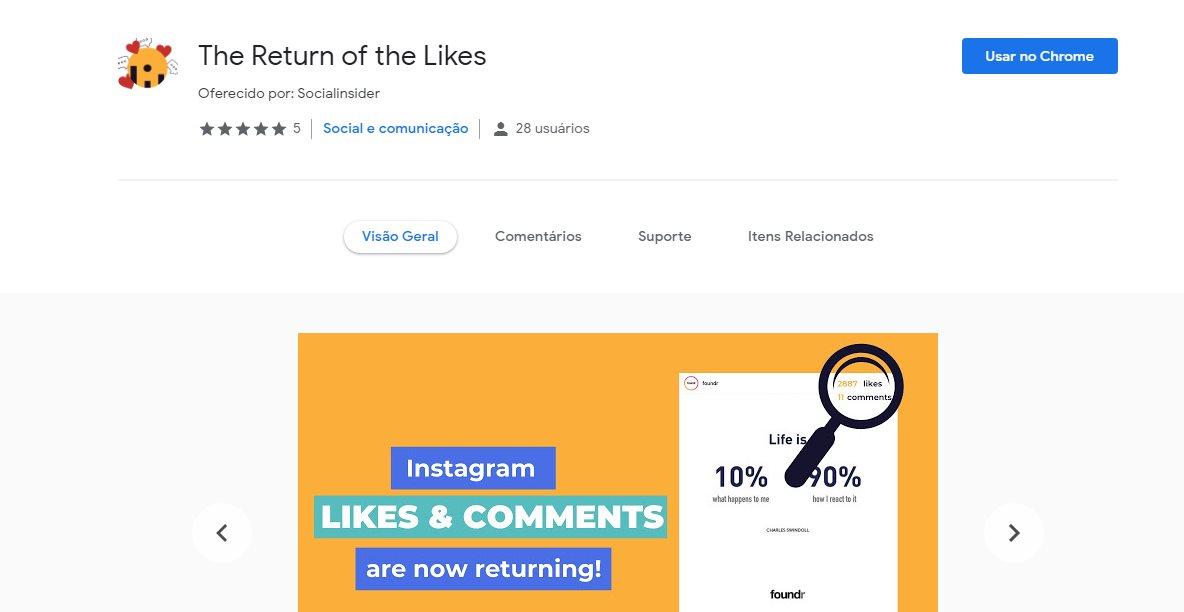 Un truco para volver a mostrar el número de Me Gusta en Instagram