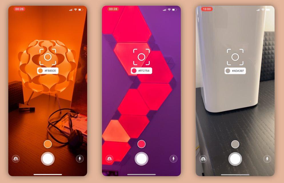Una app para saber el código del color de las cosas que nos rodean