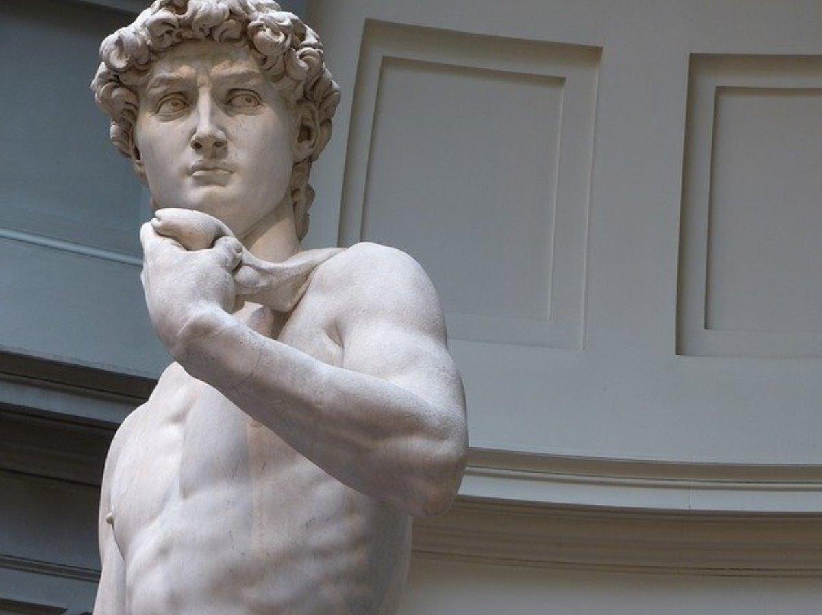Crean impresión 3D de la escultura El David de 1mm de alto
