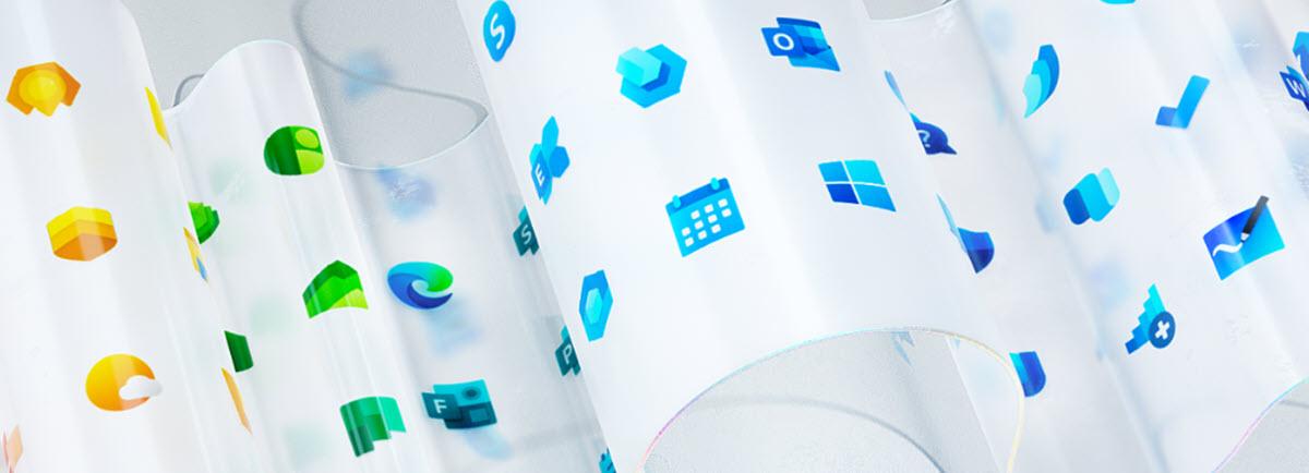Microsoft rediseña el logo de Windows y otros 100 iconos