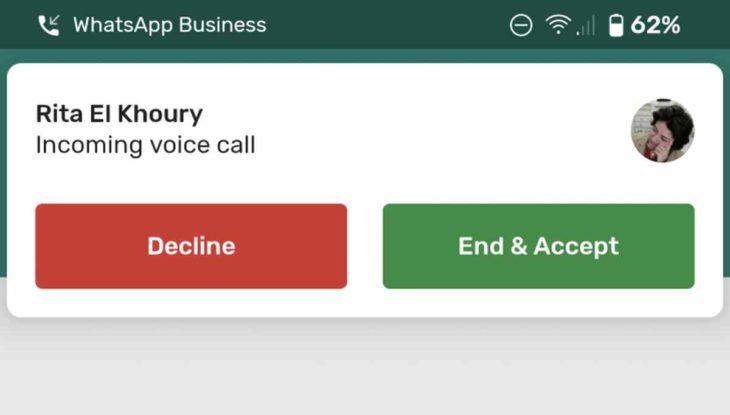 WhatsApp trae finalmente la función de llamadas en espera en Android