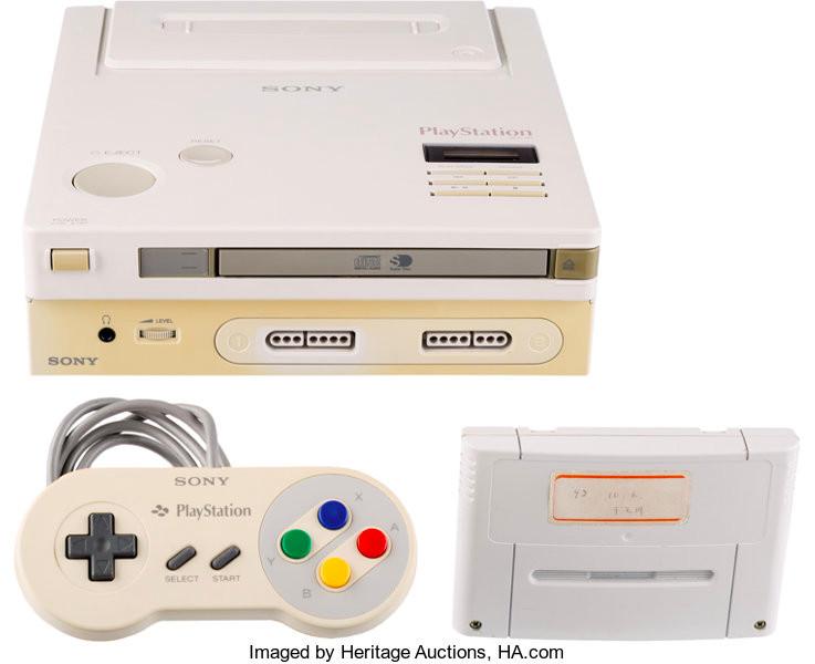 Subastan el único prototipo sobreviviente de la fallida consola noventera de Nintendo y Sony