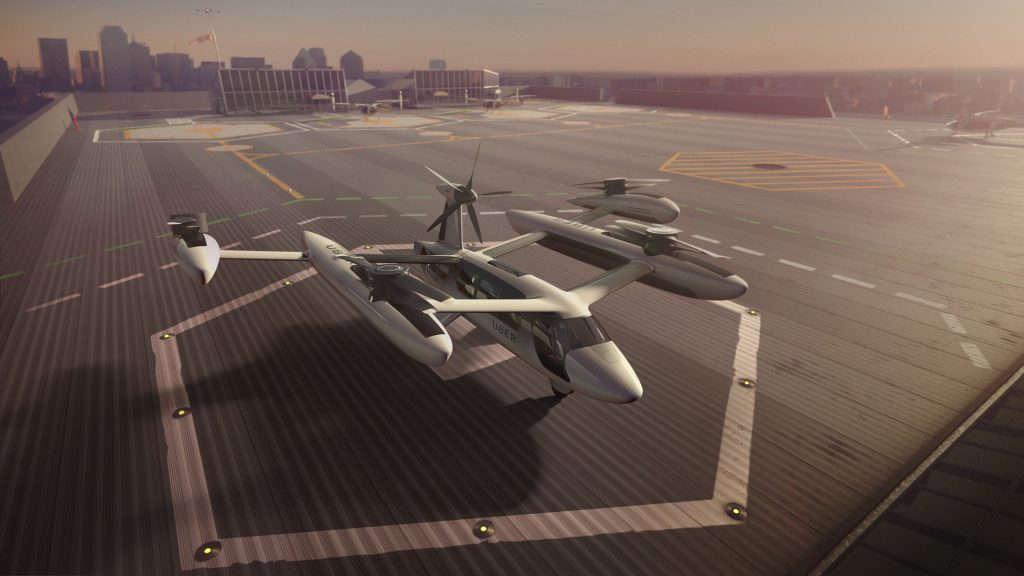 Los taxis aéreos de Uber llegarían en 2023