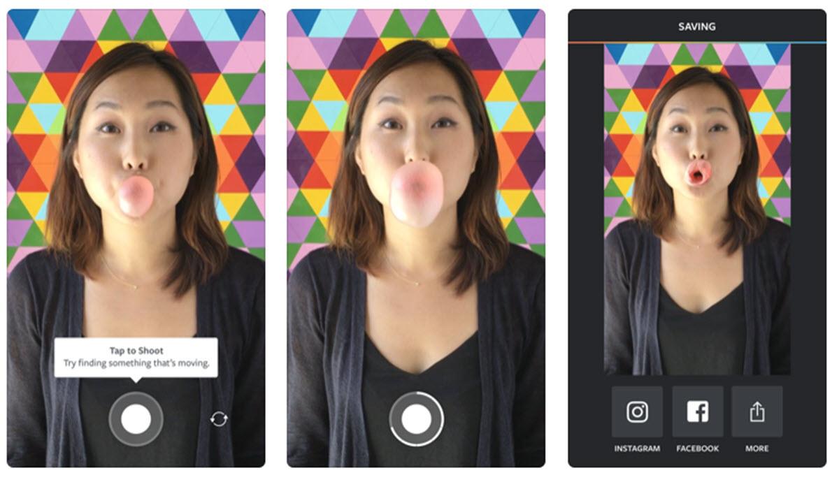 Instagram actualiza su app Boomerang con efectos al estilo TikTok