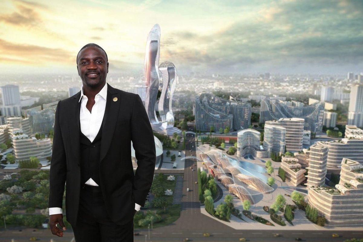 Cantante Akon fundará su propia ciudad en África y tendrá el akoin como criptomoneda