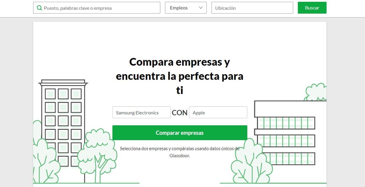 Un sitio gratuito para comparar salarios y demás datos entre empresas