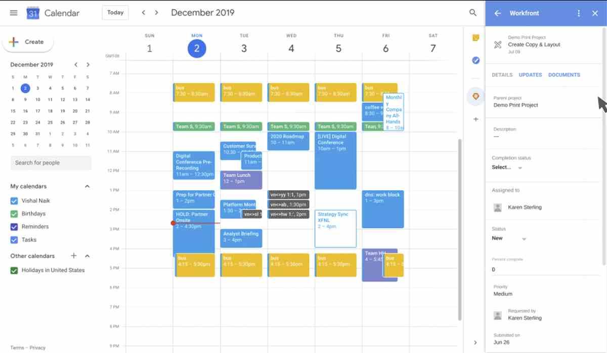 Los complementos de G Suite salen de la beta, llegando oficialmente a Gmail, Calendar y Drive