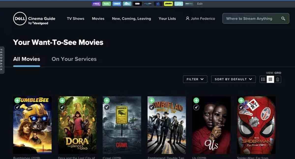 Dell Cinema Guide, la nueva app de Dell para disfrutar de series y pelis en Windows