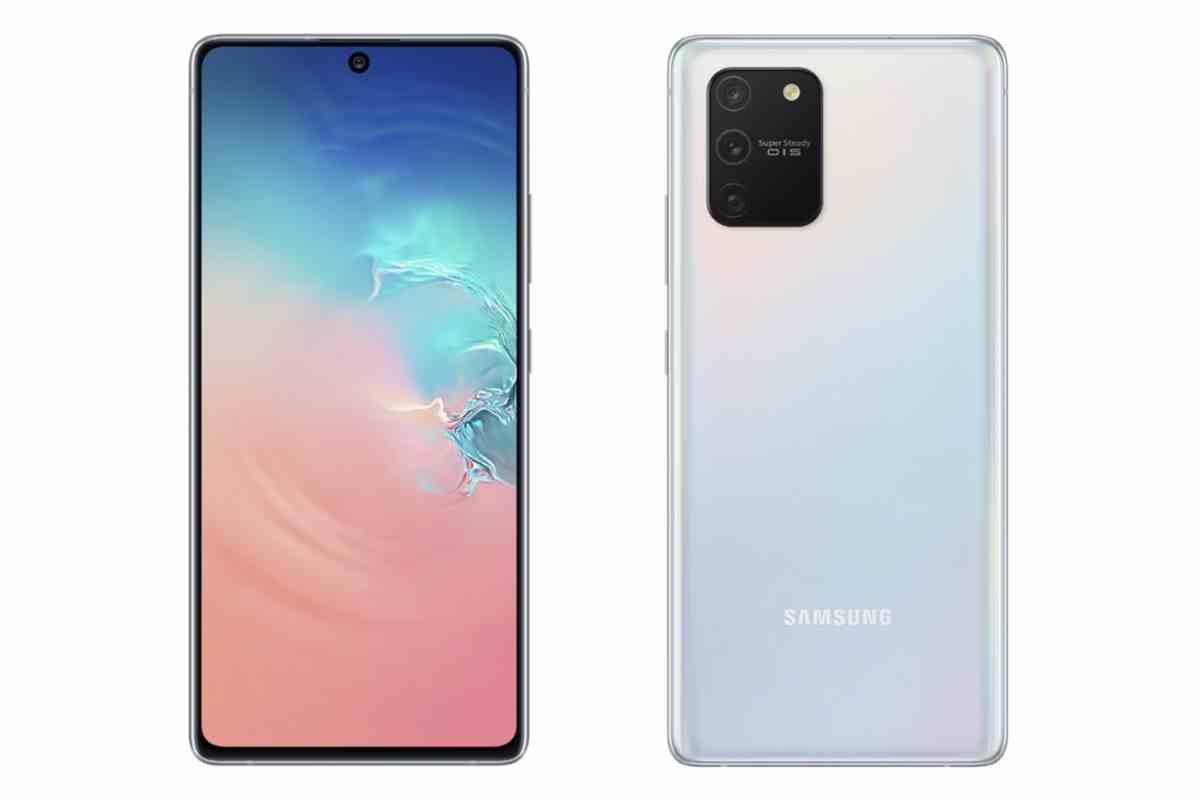 Samsung presenta las versiones Lite del Galaxy S10 y del Galaxy Note10