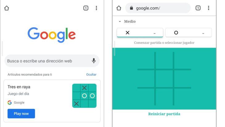 """Chrome te sorprenderá con el """"juego del día"""" en las recomendaciones"""