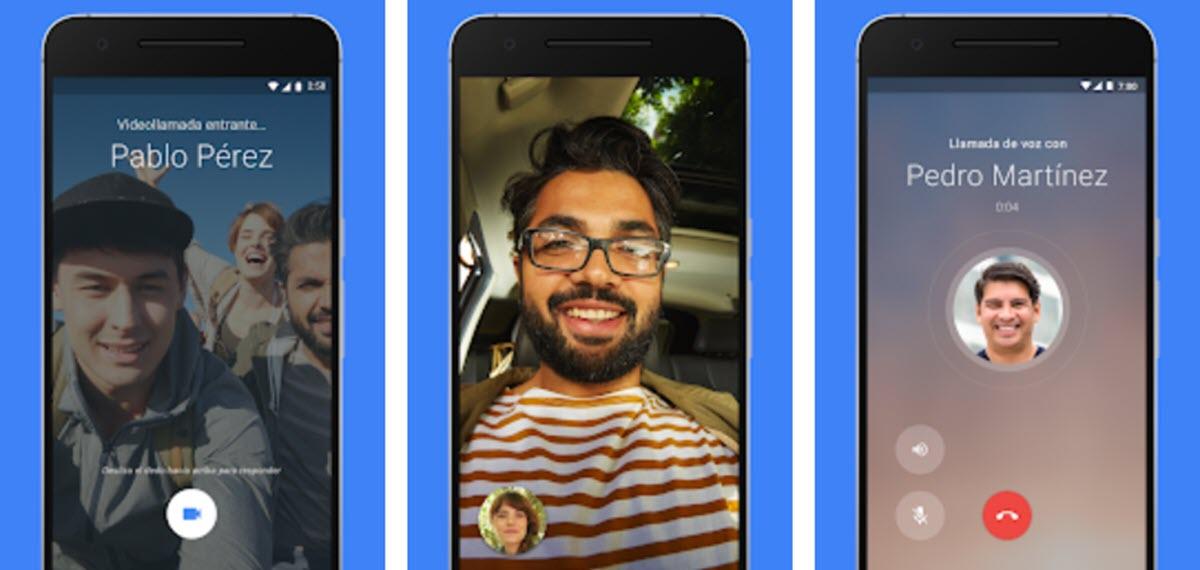 Google Duo añade reacciones al estilo Facebook para responder los mensajes