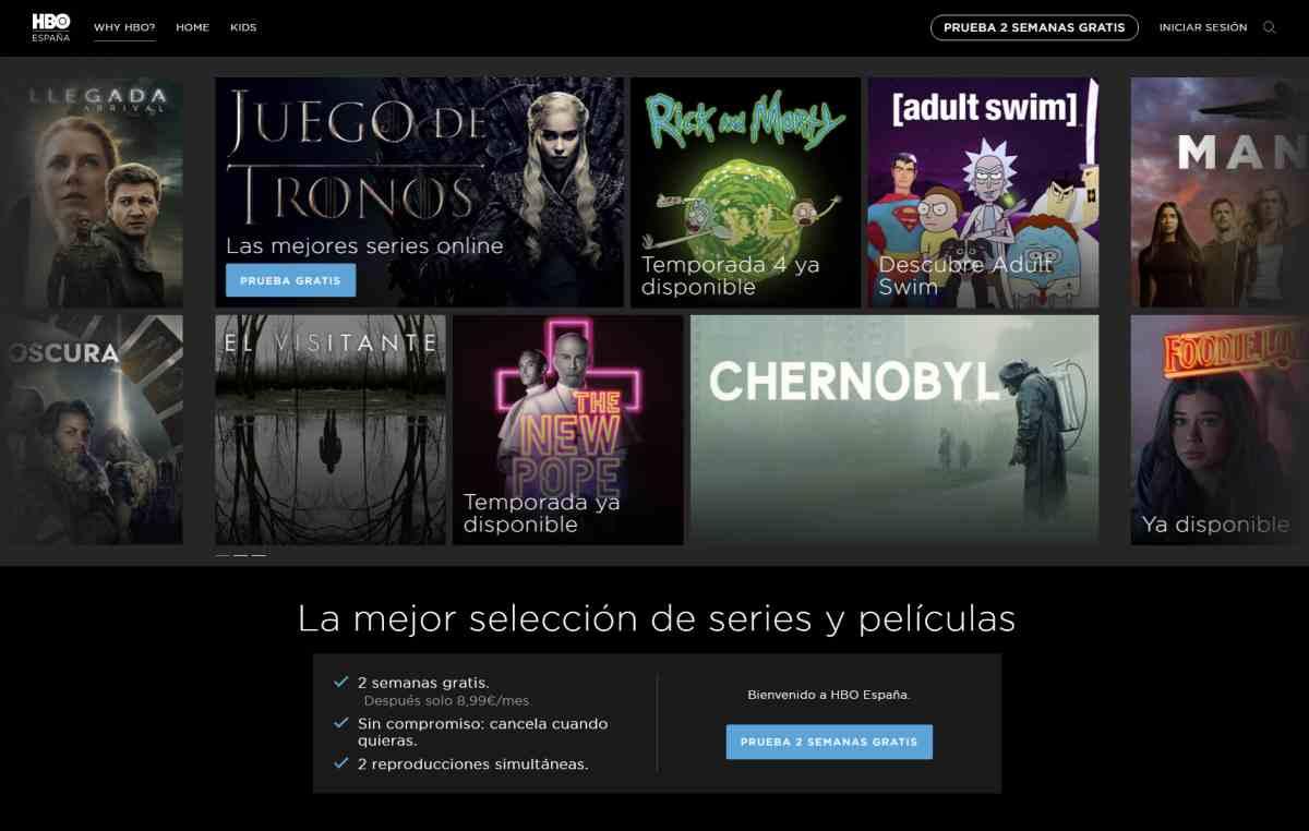 HBO ya permite ver sin conexión series y pelis en Europa en su app para Android