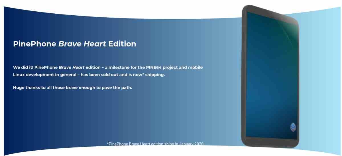 Pine64 lanza su primer PinePhone, un teléfono móvil asequible para usar con el Linux favorito