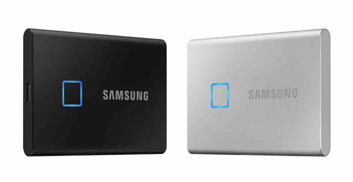 Así es SSD T7 Touch, la nueva SSD portátil de Samsung con protección por huella dáctilar