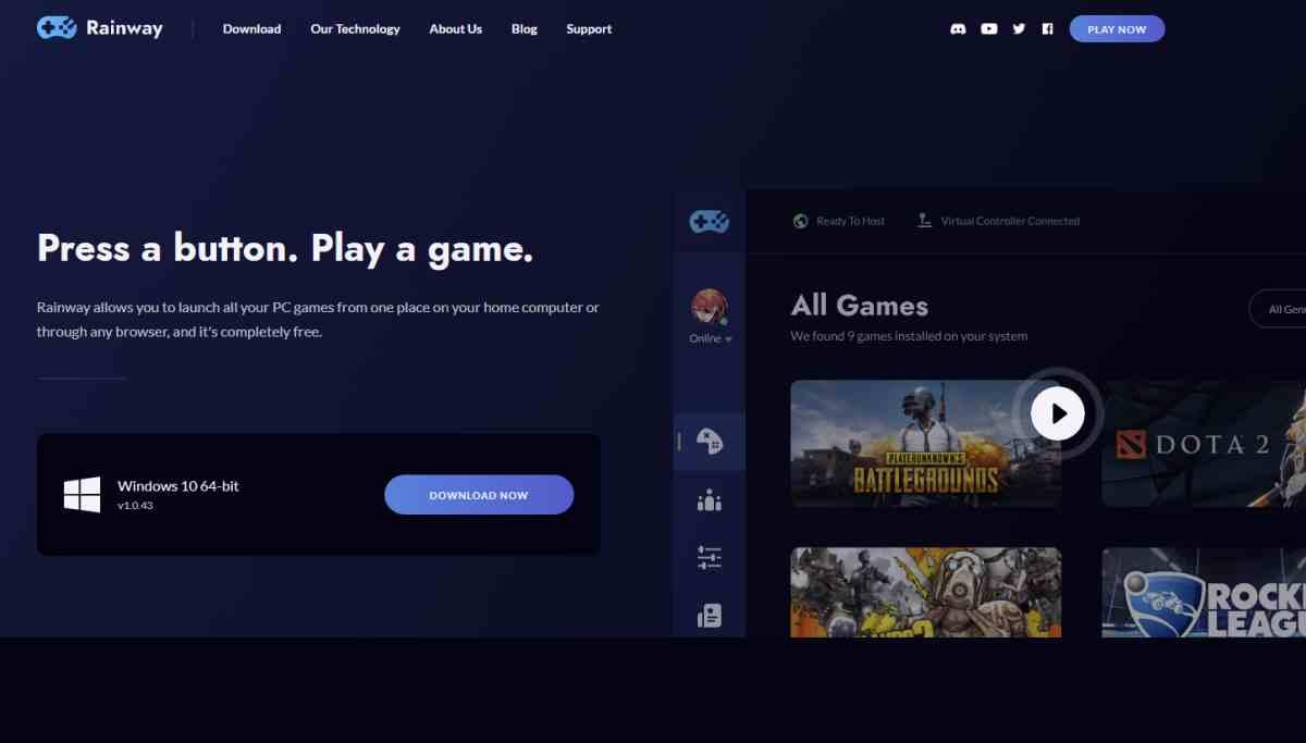 Rainway, servicio de transmisión de juegos de PC a otros dispositivos, lanza su app para iOS