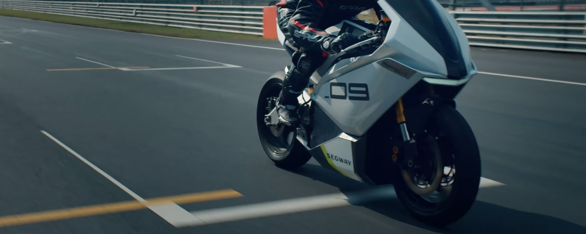 Segway Apex, la moto eléctrica de Ninebot que espera sorprender en el CES 2020