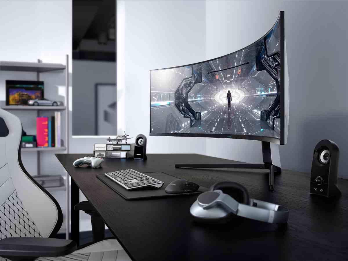 Así son los nuevos monitores curvos para juegos de Samsung