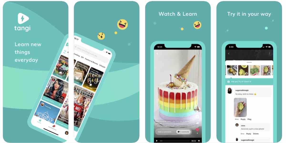 Así es Tangi, la nueva plataforma que busca inspirar la creatividad mediante vídeos cortos