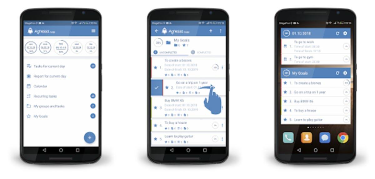 Una app para organizar actividades y tareas pendientes