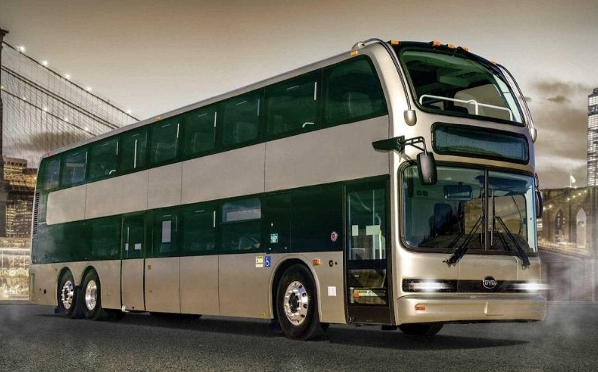 Impresionante autobús eléctrico de dos pisos