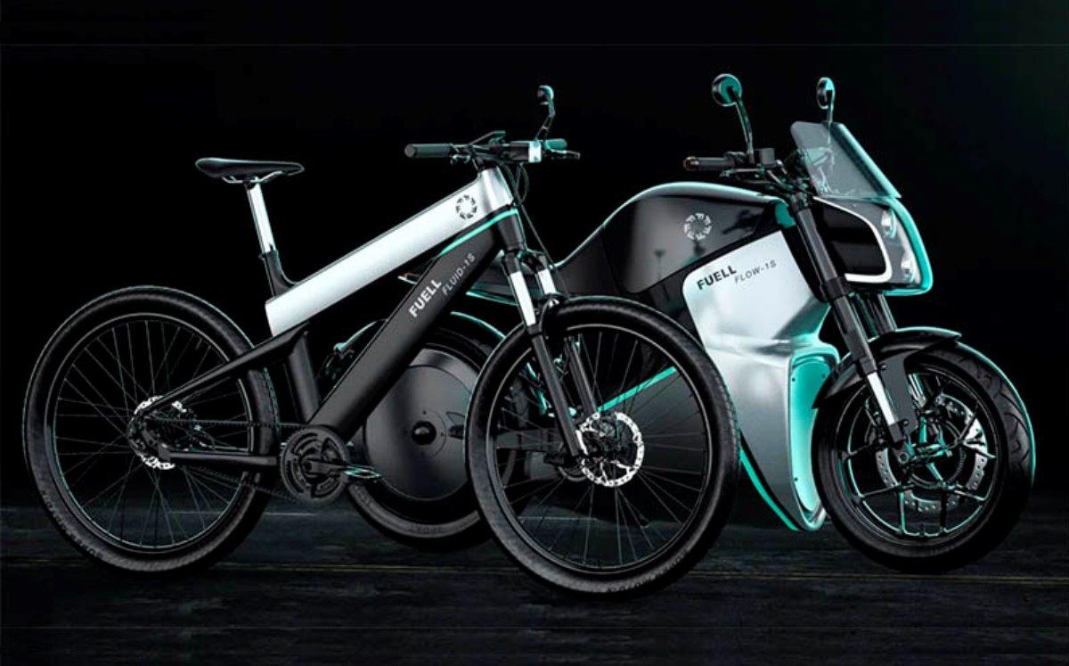 Disfruta de la vía con la bicicleta y motocicleta eléctricas de Fuell