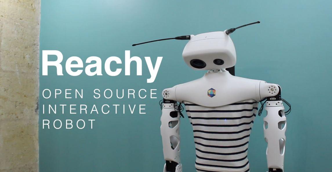 Reachy, un robot interactivo de código abierto