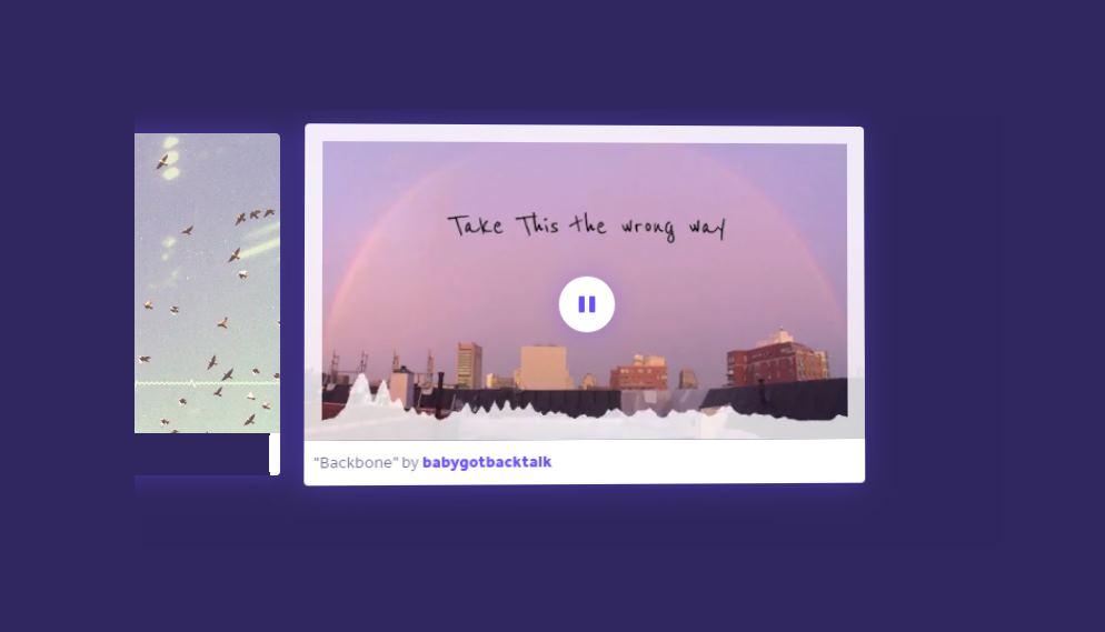 Una herramienta para hacer vídeos musicales a partir de una canción
