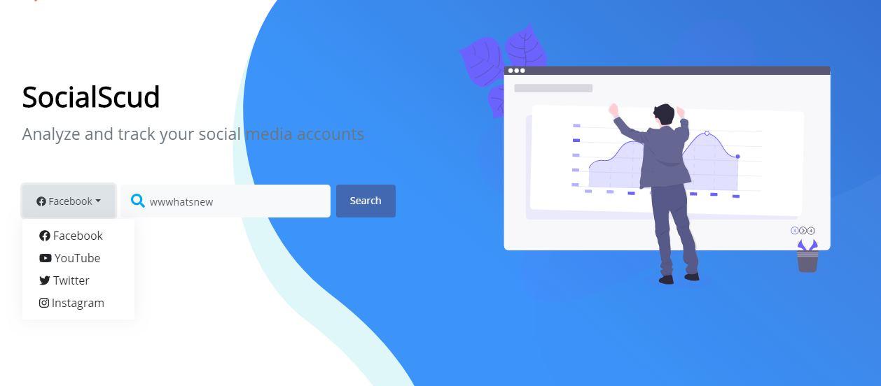 SocialScud, una buena herramienta para obtener informes de las redes sociales