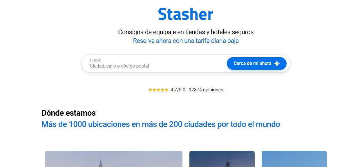 Stasher, para dejar tu maleta en tiendas y hoteles seguros, consigue 2,5 millones de inversión