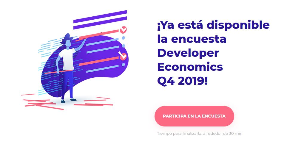 Responde la encuesta Developer Economics 2019 ¡y gana un iPhone 11!