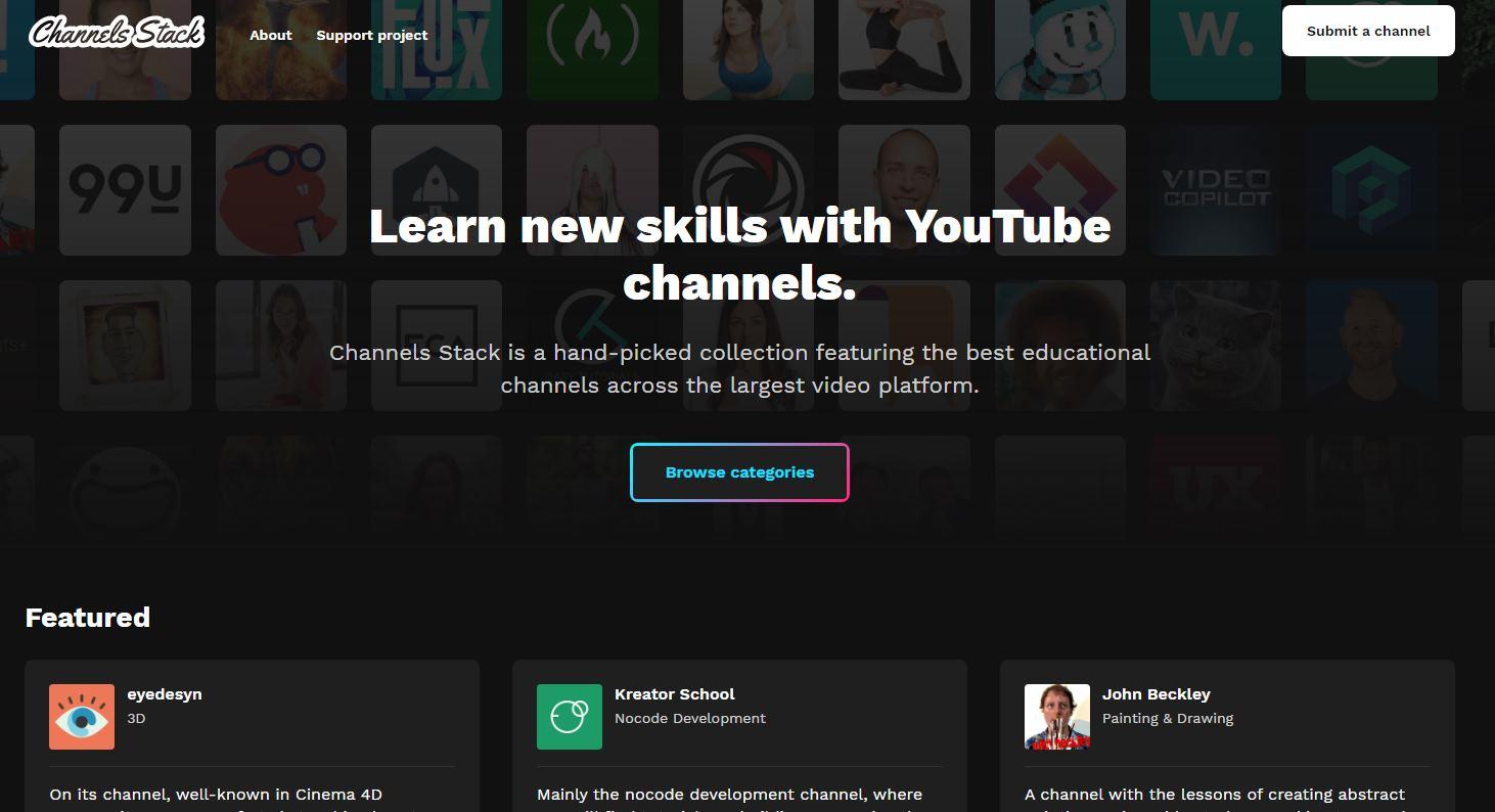 Decenas de canales de Youtube para aprender prácticamente cualquier cosa