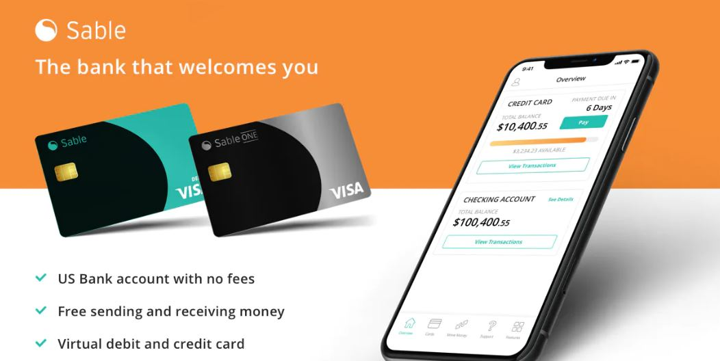 Sable, una solución para tener una cuenta bancaria y tarjeta en Estados Unidos