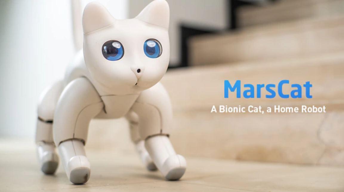 MarsCat, el gato robot que puede personalizarse