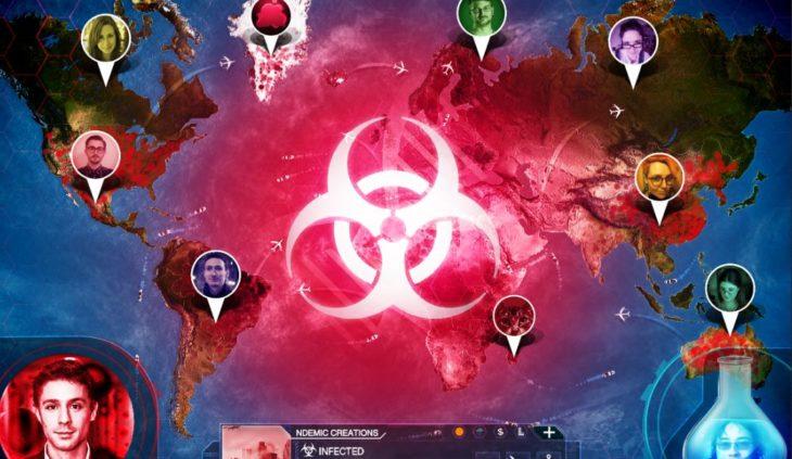 Los chinos están simulando la epidemia del Coronavirus con el juego Plague Inc